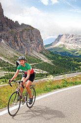 Dolomites biking photo